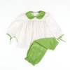 Sage Green Long Charlotte Set