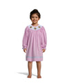 Smocked Turkey Hot Pink Gingham LS Bishop