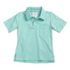 Mint Knit Pocket Polo
