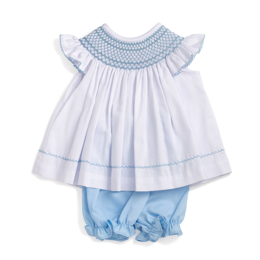 69af6ba645f Smocked Geo Top   Bloomer Set