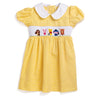 Smocked Storybook Friends Dress