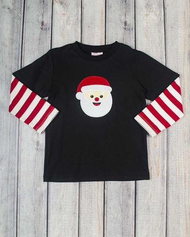 Santa Claus App Boys LS T-Shirt - Boys - Stellybelly - 1