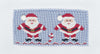 Smocked Blue Santa Girls Pant Set - Girls - Stellybelly - 3