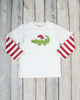 Santa Gator App Boys LS T-Shirt - Boys - Stellybelly - 1