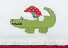 Santa Gator App Knit Dress - Girls - Stellybelly - 2