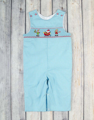 Smocked North Pole Longall - Boys - Stellybelly - 1