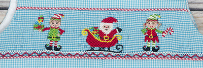 Smocked North Pole Longall - Boys - Stellybelly - 3