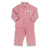 Smocked Jolly Santa Boys Loungewear