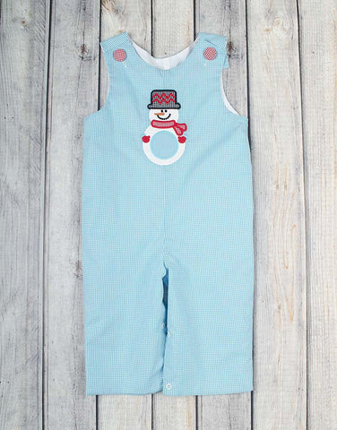 Snowman Mono Longall - Boys - Stellybelly - 1
