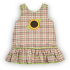 Sunflower Applique A-Line Dress