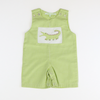 Applique Alligator Shortall