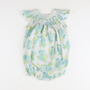Smocked Floral Geo Bubble