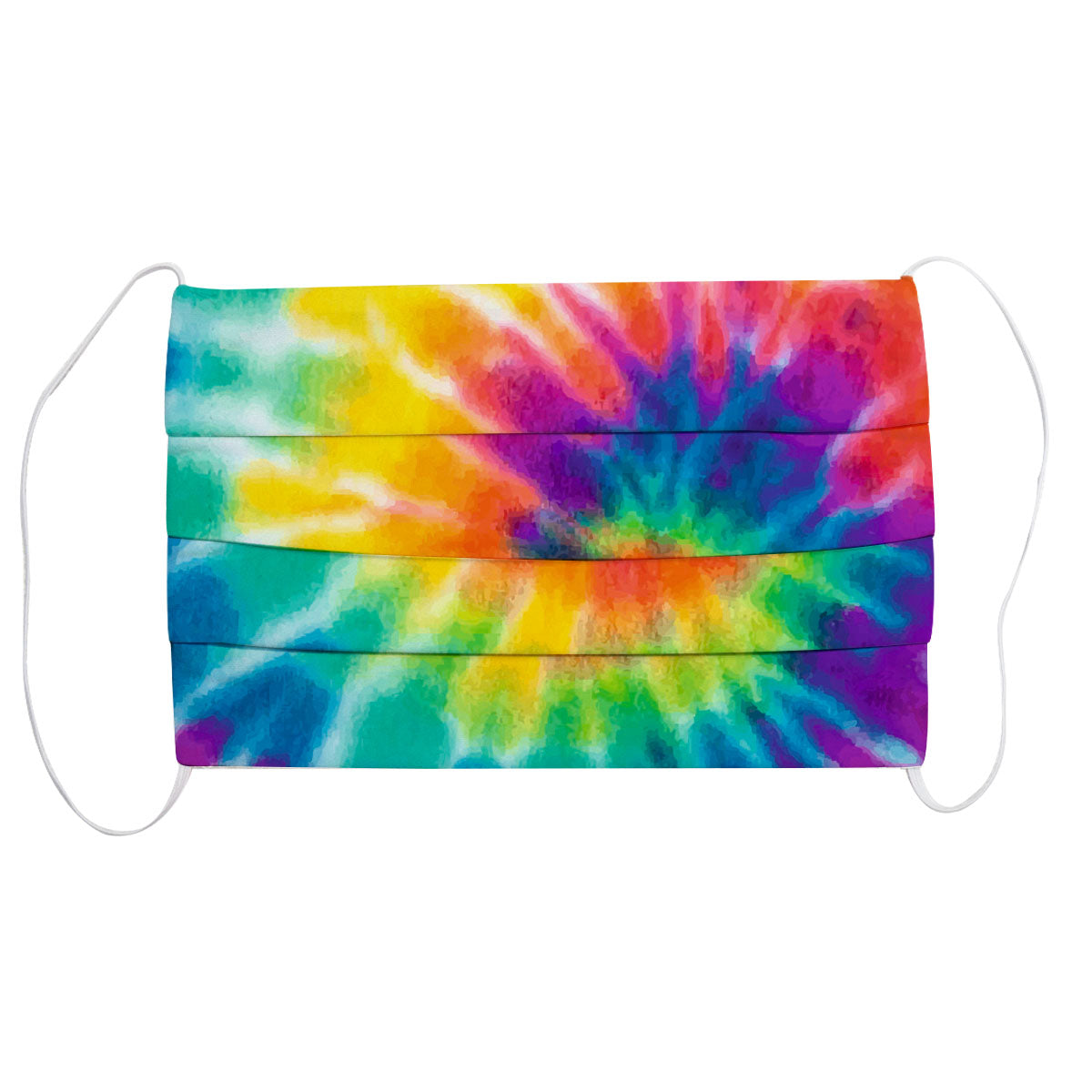 Tie Dye Colors Face Mask