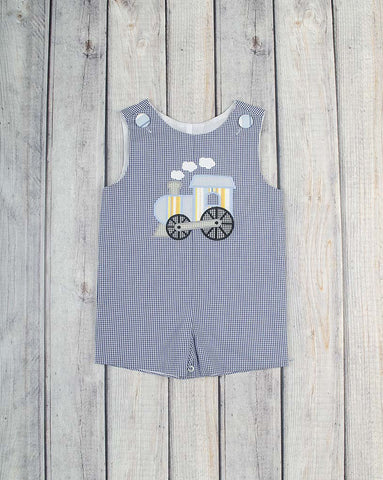 Train Applique Jon Jon - Boys - Stellybelly - 1