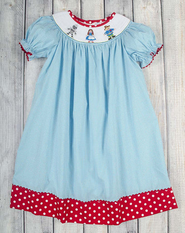 Wizard of Oz Smocked Bishop - Girls - Stellybelly - 1