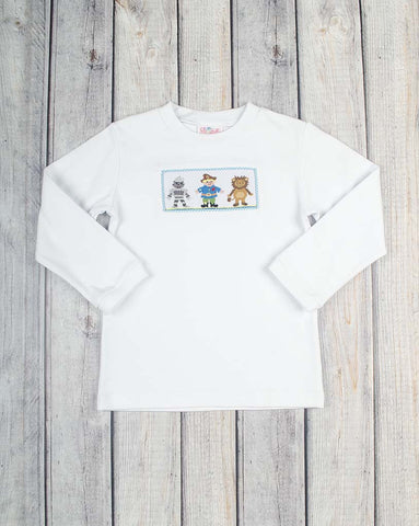 Wizard of Oz Boys Smocked LS T-Shirt - Boys - Stellybelly - 1