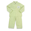 Smocked Festive Tree Boys Loungewear