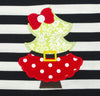 Santa Tree Applique Ruffle Dress - Girls - Stellybelly - 4