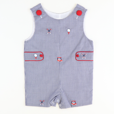 Embroidered Golf Shortall