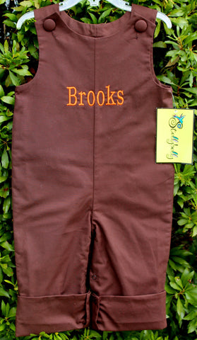 Brown Basic Longall - Boys - Stellybelly