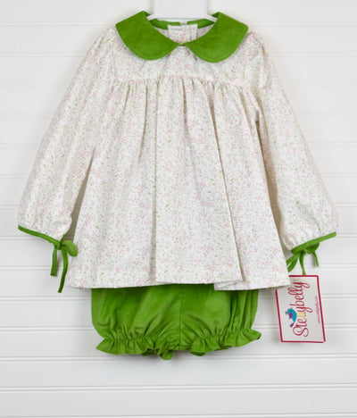 Sage Green Charlotte Bloomer Set