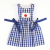Smocked Apple Pinafore
