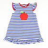 Appliqued Apple Knit Dress