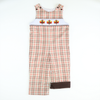 Smocked Thanksgiving Plaid Longall