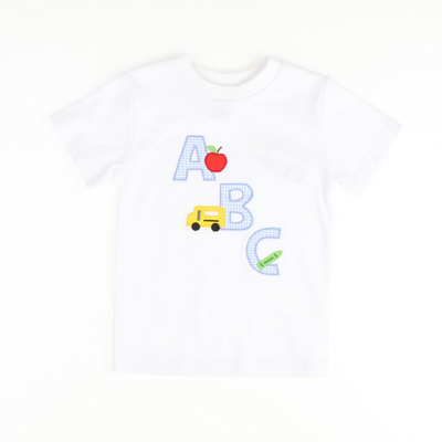 ABC Appliqué Shirt