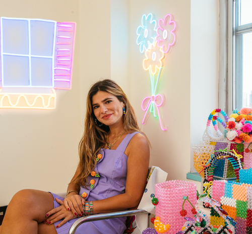 Dazzling Designs: Introducing Susan Alexandra's new neon sign collection