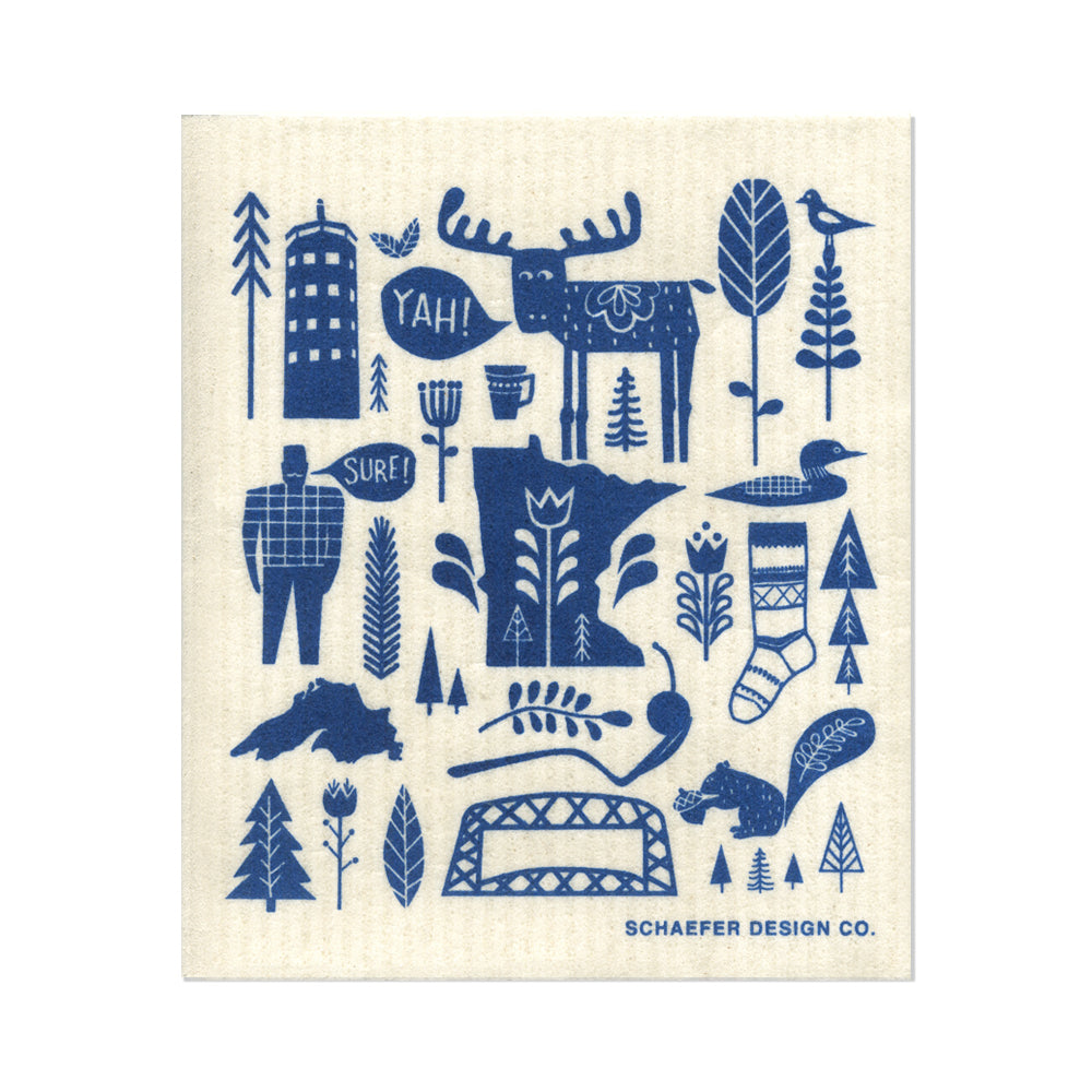 Yah! Sure! Minnesota | Swedish Dishcloth