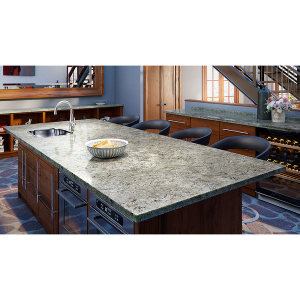 Rushing Dusk Solid Surface Countertops Allen Roth