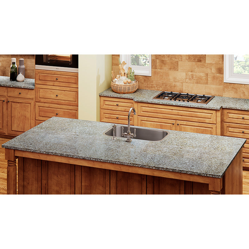 Steel Surge Solid Surface Countertops Allen Roth
