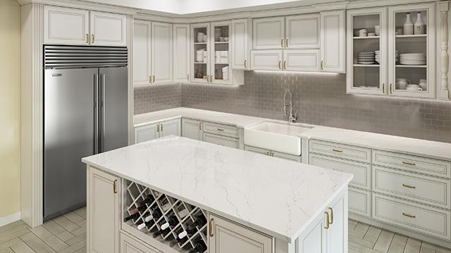 Why Allen + Roth™ Quartz Surface Countertops?