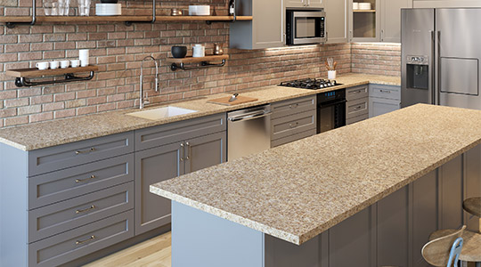Solid Surface Countertops Allen Roth