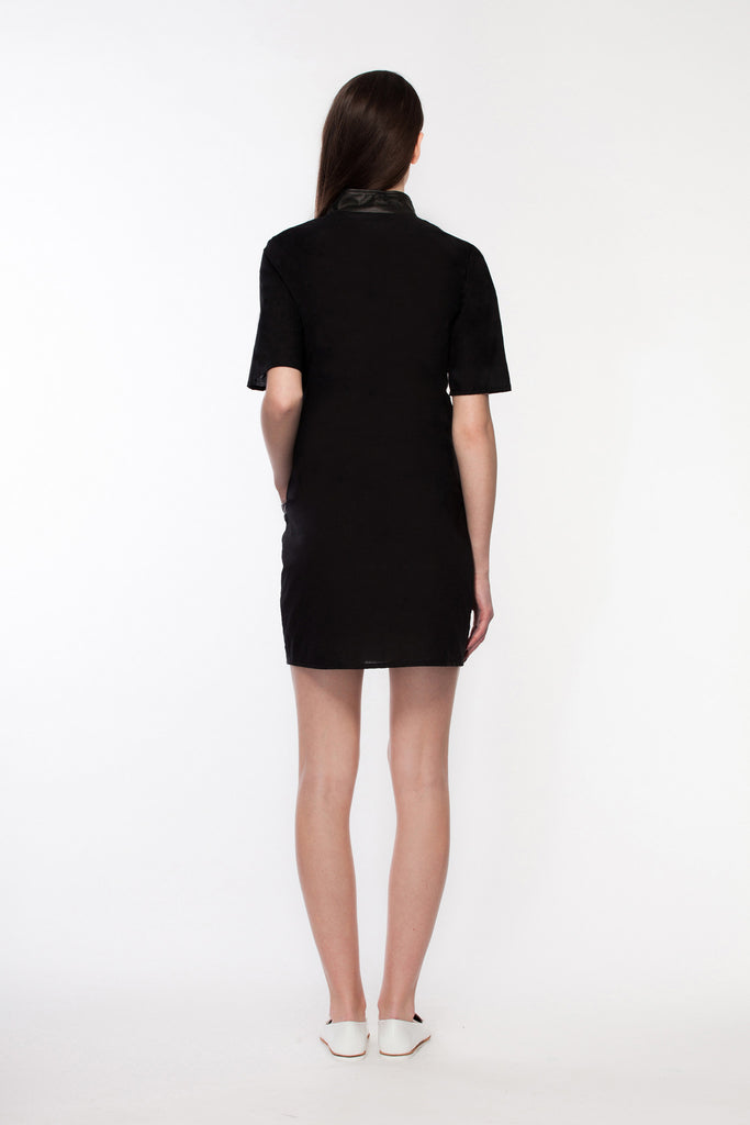 Gaia - Black Shirt Dress