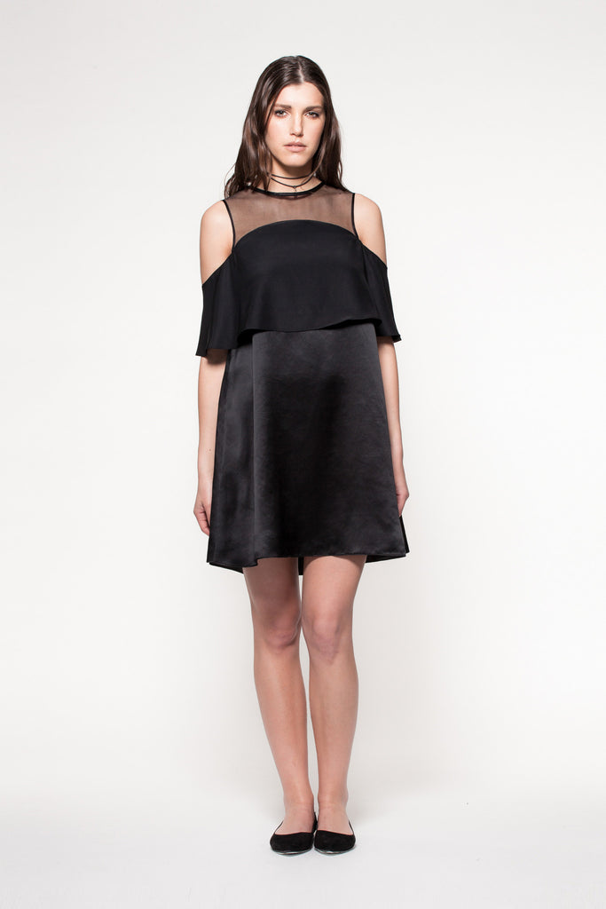Jessy - Black cocktail Dress