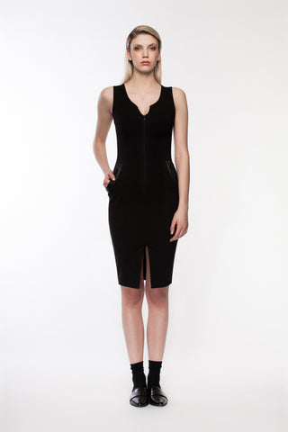 Lenox - basic black dress