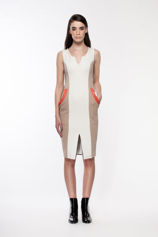 Lenox - Fall color block Dress