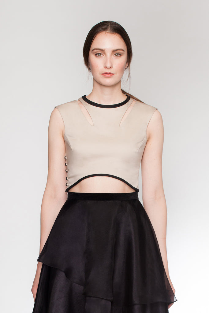 Lotus - Minimal Crop Top