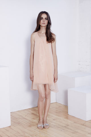 Palmyra - Chiffon Silk Dress