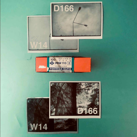 Portiga Rapid Vintage Analogue Photographic Papers by Agfa