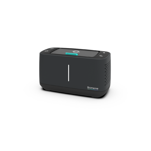 Franklin Thermocycler in black at a slight angle