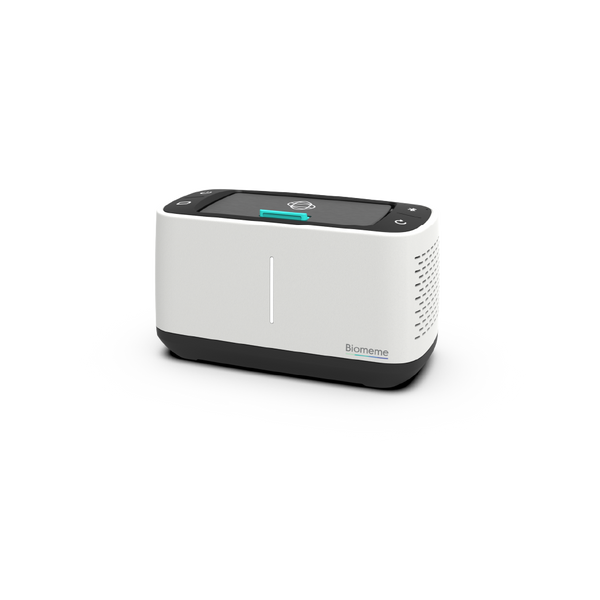 Franklin Thermocycler in white and black at a slight angle