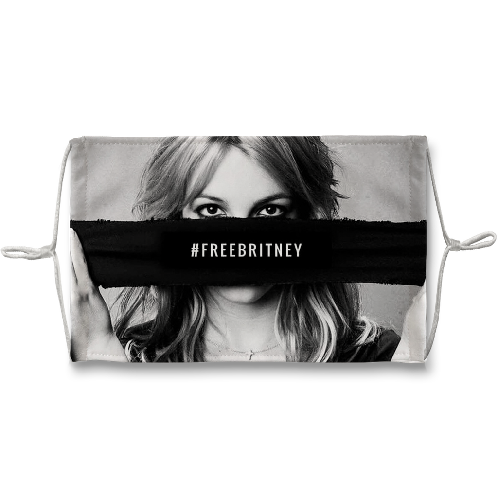 Free Britney Spears Sublimation Face Mask