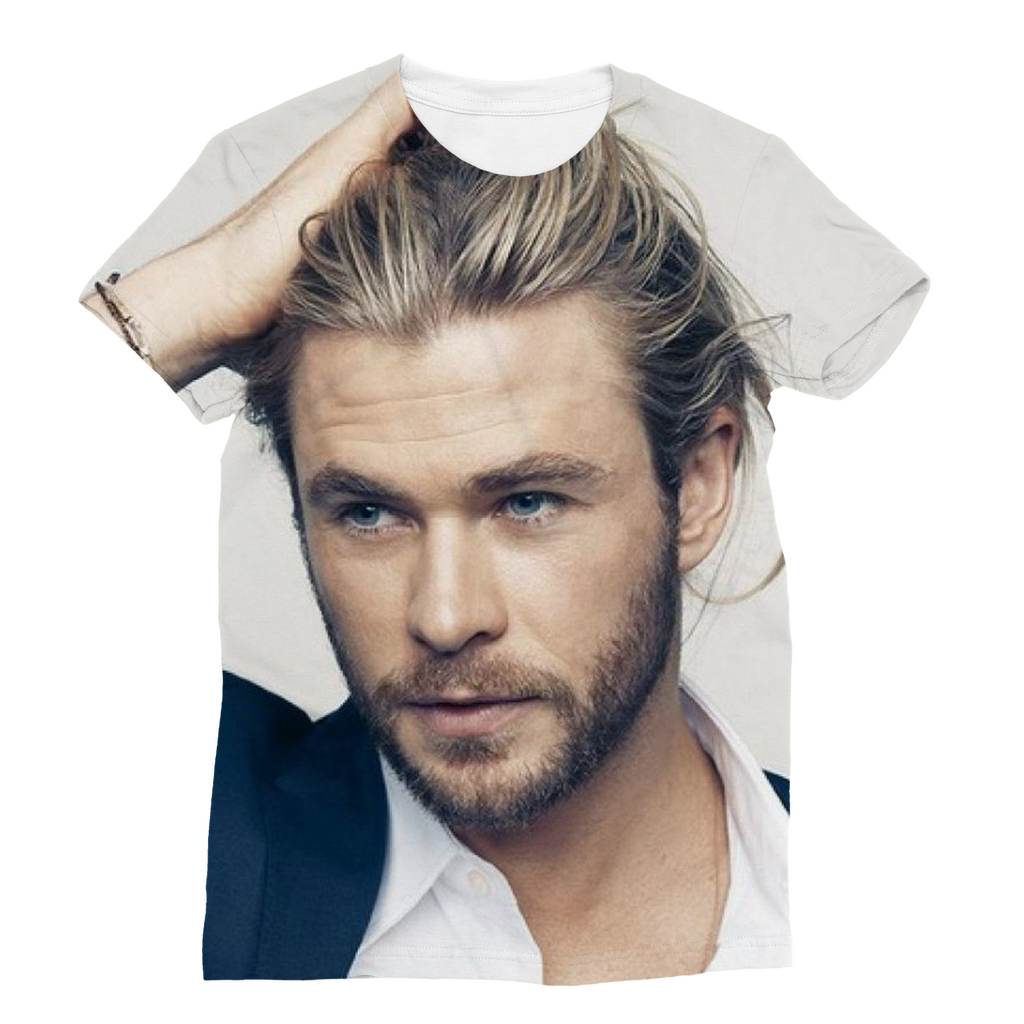Chris Hemsworth Classic Sublimation Women's T-Shirt