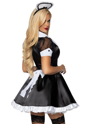 Classic French Maid Costume - PartyExperts