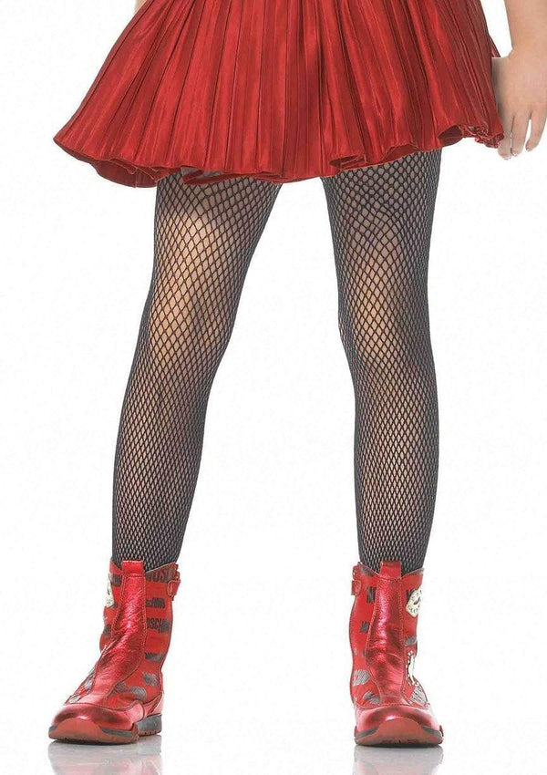 Girl's Fishnet Tights - PartyExperts