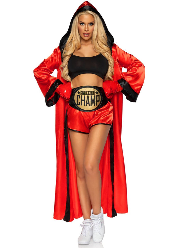 Knockout Champ Boxer Costume - PartyExperts