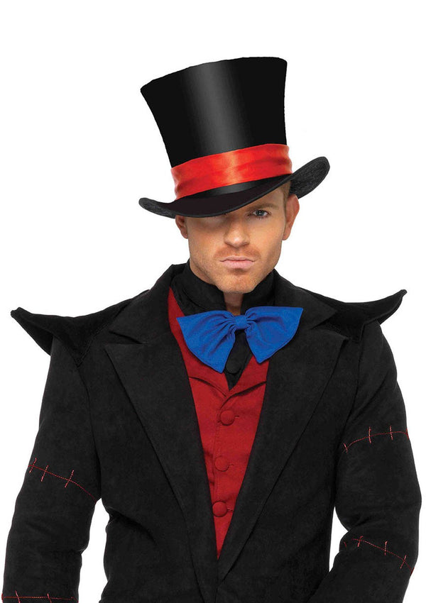 Men's Velvet Top Hat - PartyExperts